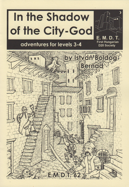 Image of In the Shadow of the City-God