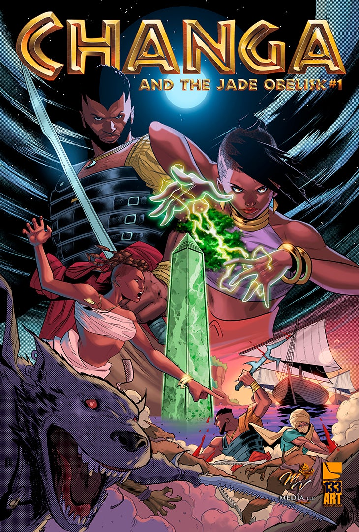 Image of Changa and the Jade Obelisk #1 Deluxe [Print Comic]