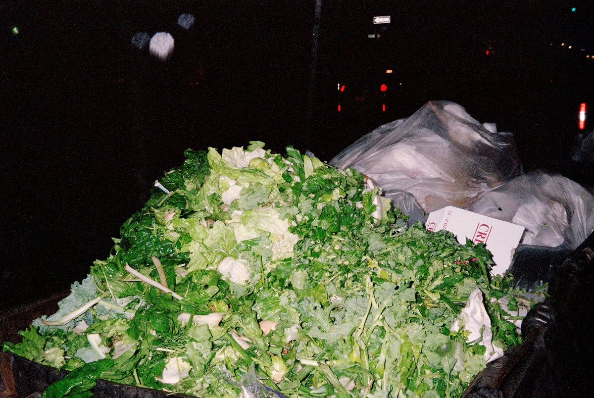 Image of Pile of Lettuce