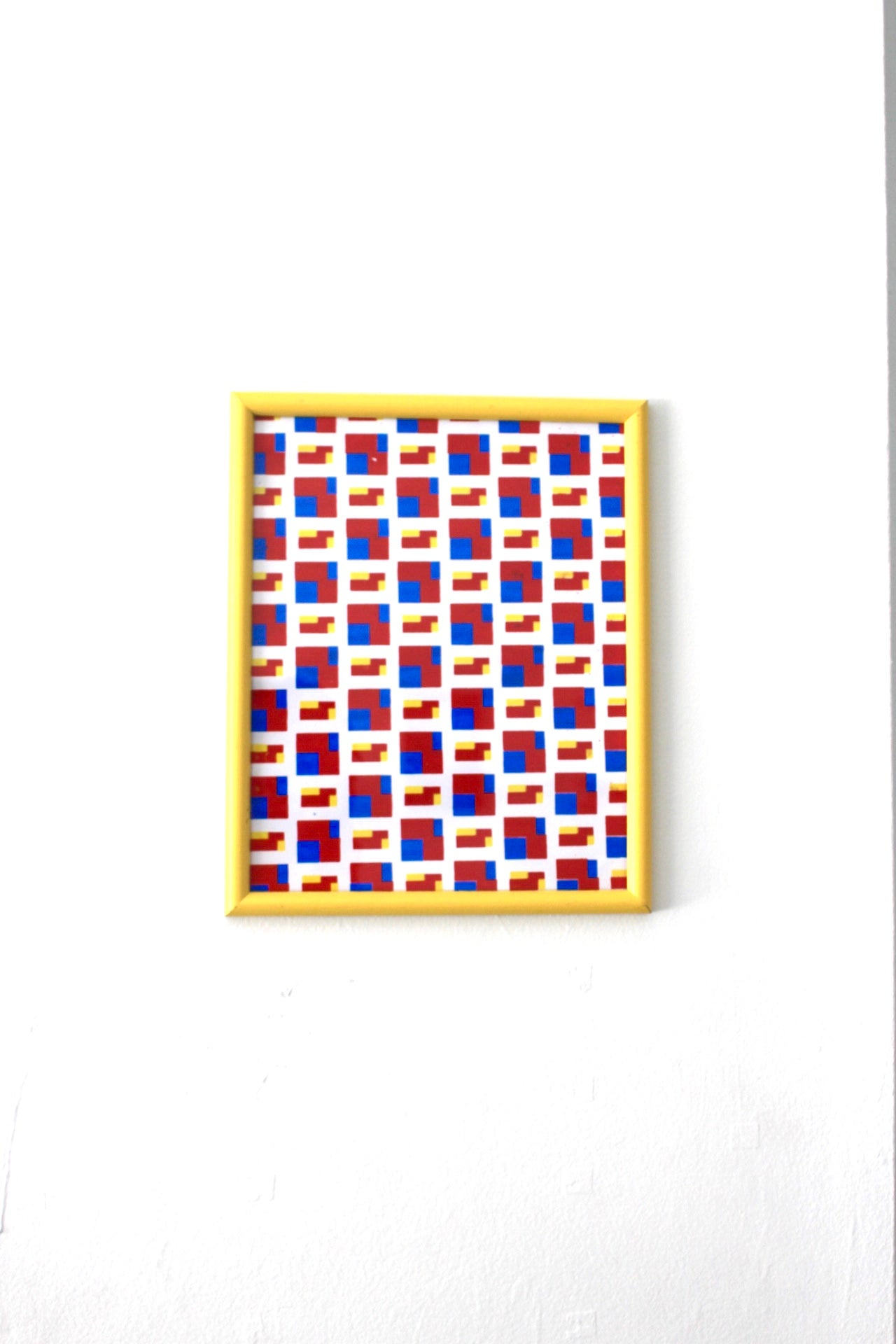 """Image of """"untitled"""" 9in x 11in 3 color silkscreen print on paper"""