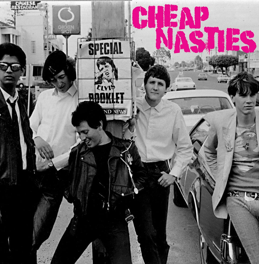 Image of CHEAP NASTIES - s/t (unreleased) LP
