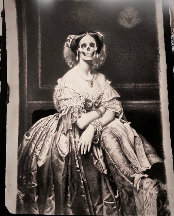 """Image of 'THE ANGEL OF DEATH' - 7 x 5"""" - Complimentary Open Edition Print"""