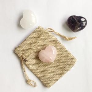 Image of Sending Energy - Quartz Crystal Heart