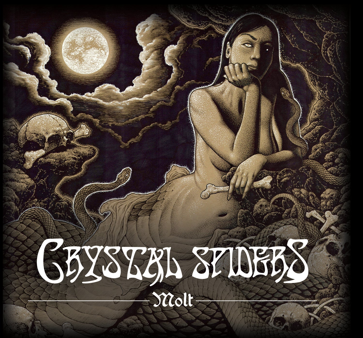 Image of Crystal Spiders - Molt Limited Edition Digipak CD