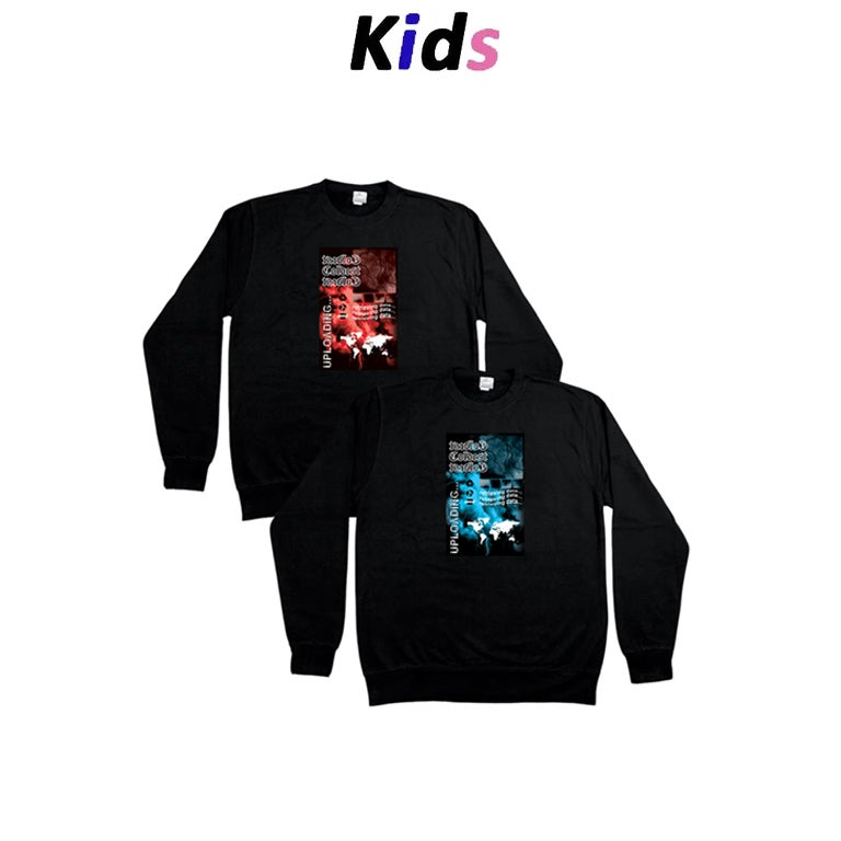 KIDS · THUNDER GRAPHIC SWEATER