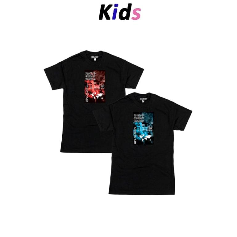 KIDS · THUNDER GRAPHIC T-SHIRT BLACK