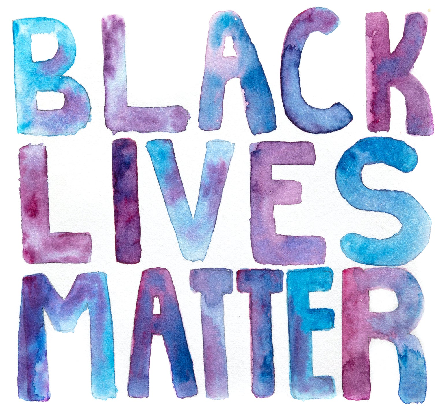 Image of BLM Sticker (free with donation to Black Trans Femmes in the Arts)