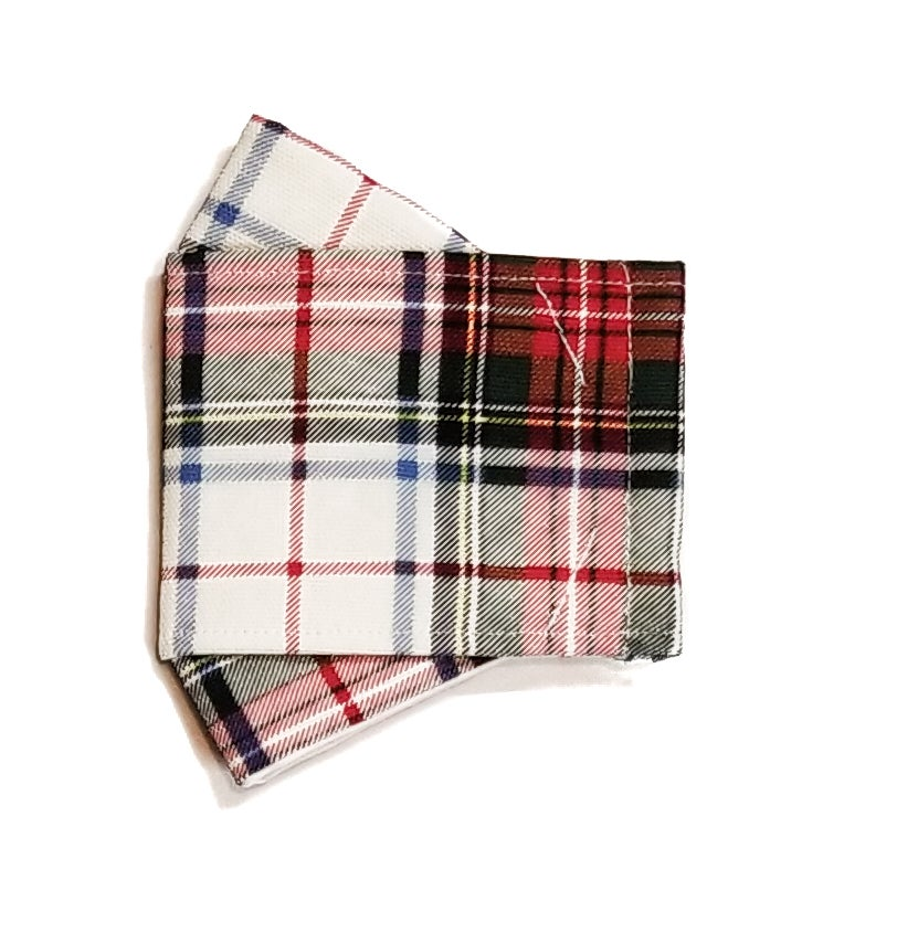 Limited Edition <br /> <br />3D Mask <br /> Red Plaid