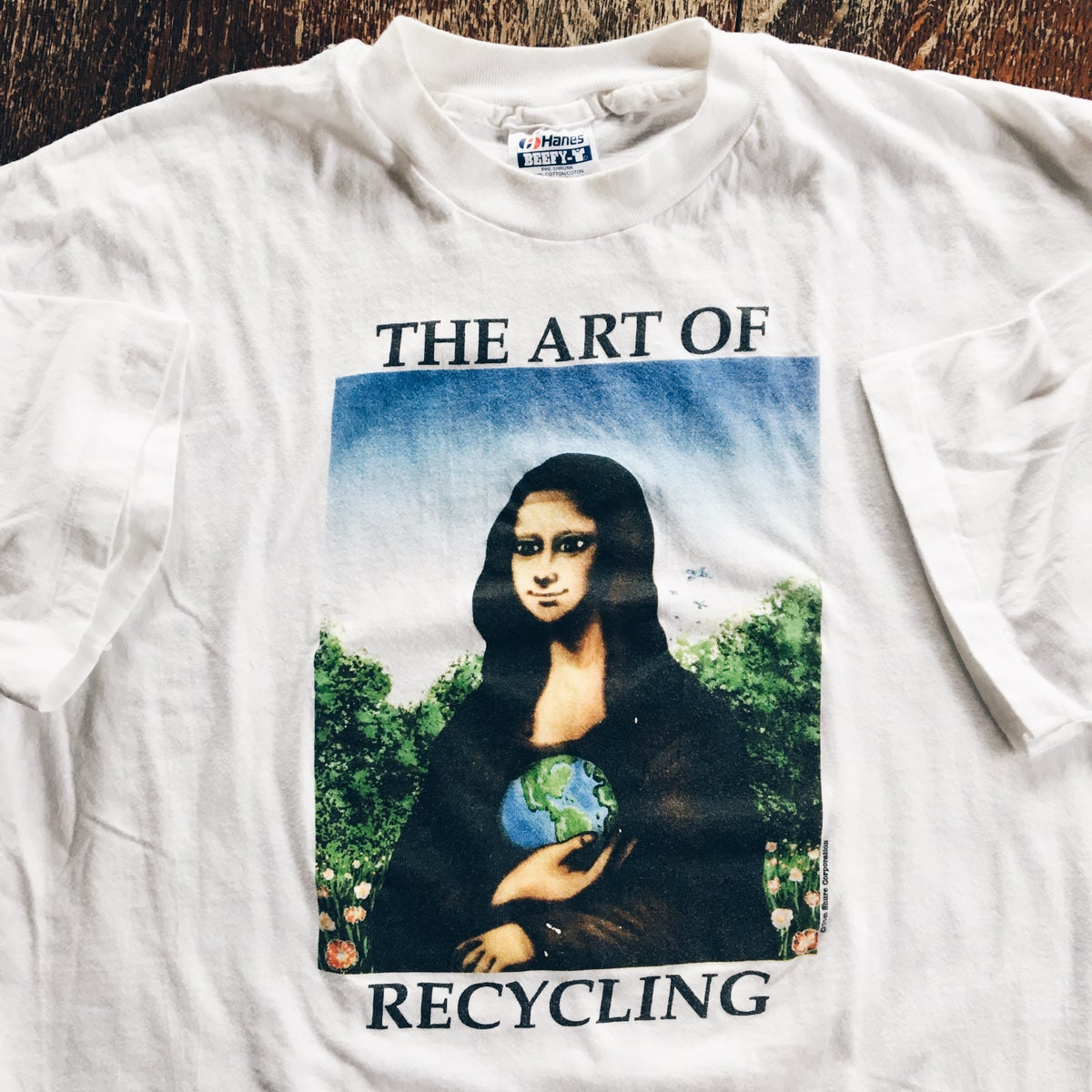 Image of Original 90's The Art Of Recycling Tee.