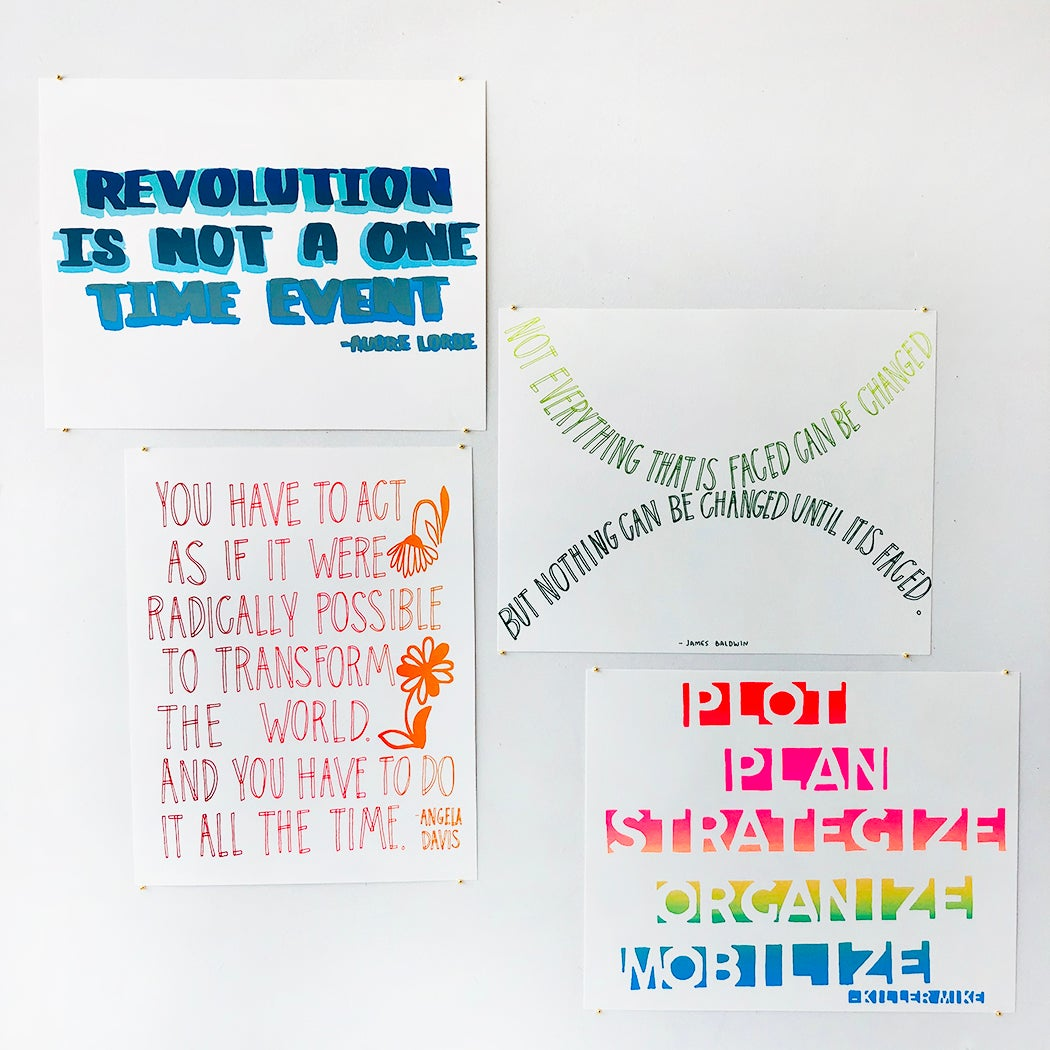 Image of PRINTS FOR CHANGE - SERIES 1