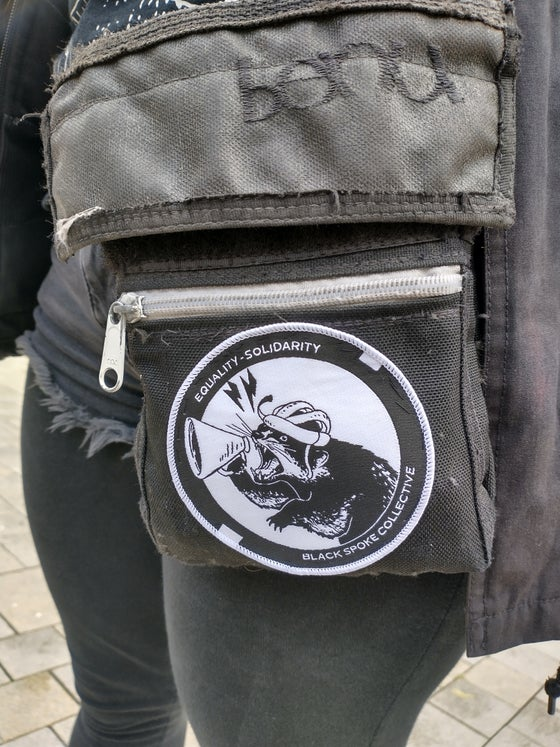 Image of Equality.Solidarity woven patch