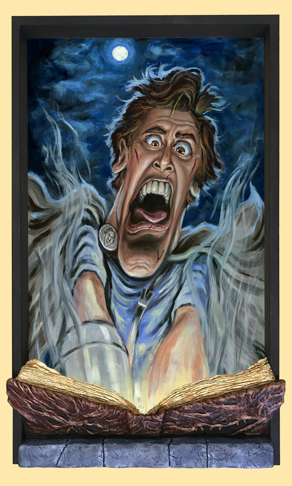 """Image of """"WRONG BOOK!!"""" (inspired by Sam Raimi's """"Army of Darkness"""")"""