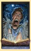 """""""WRONG BOOK!!"""" (inspired by Sam Raimi's """"Army of Darkness"""")"""