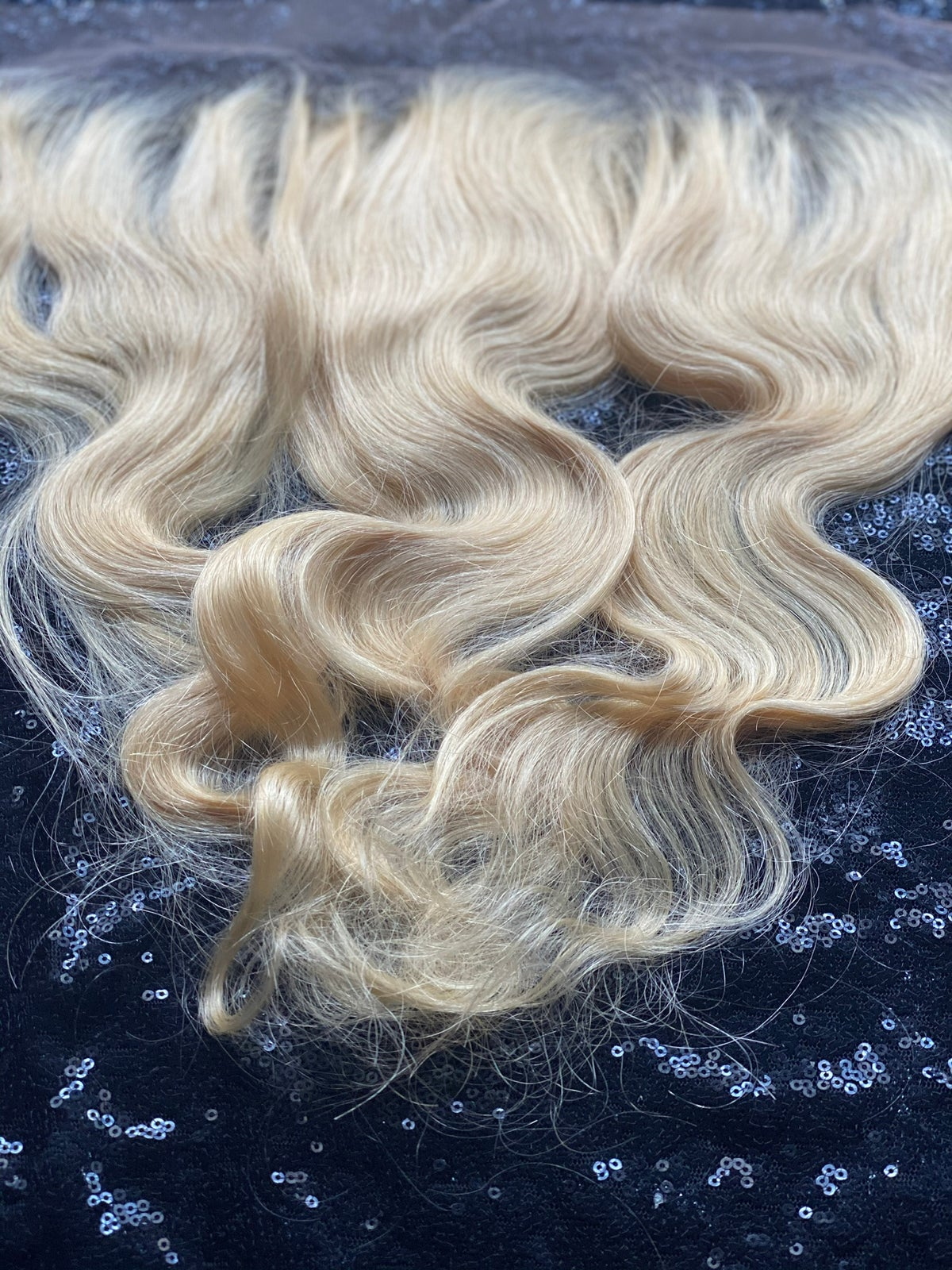 Brazilian Bunny Blonde Closures or Frontal