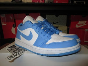 "Image of Air Jordan I (1) Retro Low ""UNC"" WMNS"