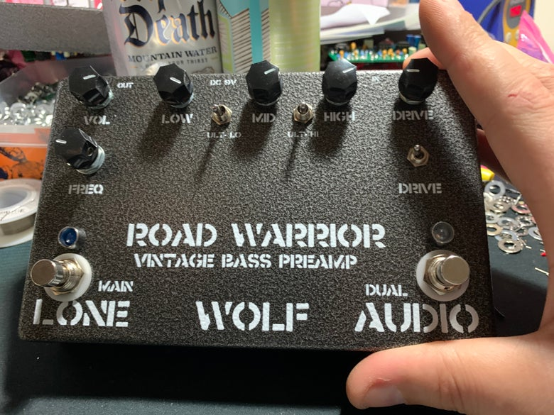Image of Road Warrior  bass preamp - early sale