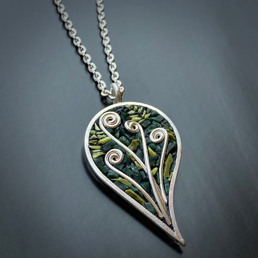 Image of Fiddlehead Forest Leaf Pendant