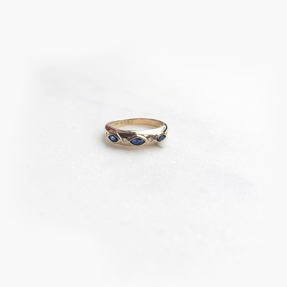 Image of Victorian Marquise Band Ring