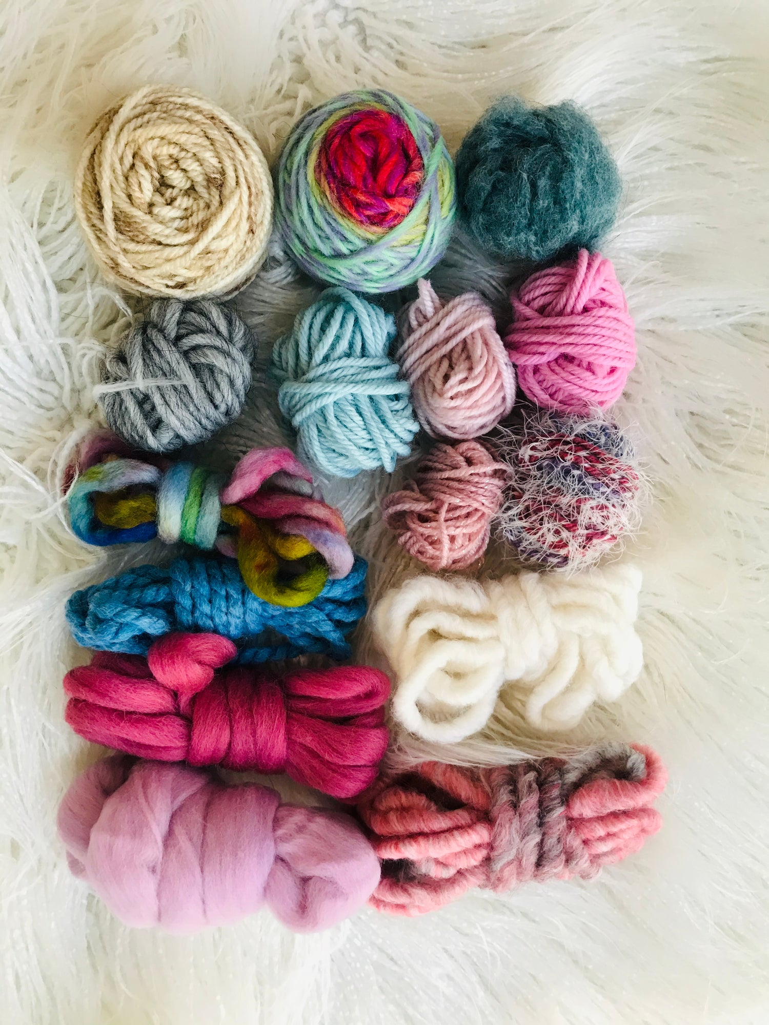 Image of Pretty Pastels Fibre Pack