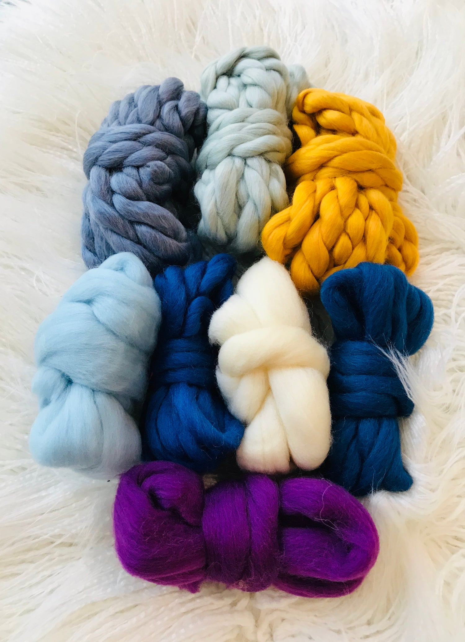 Image of A Colourful Thick Fibre Pack
