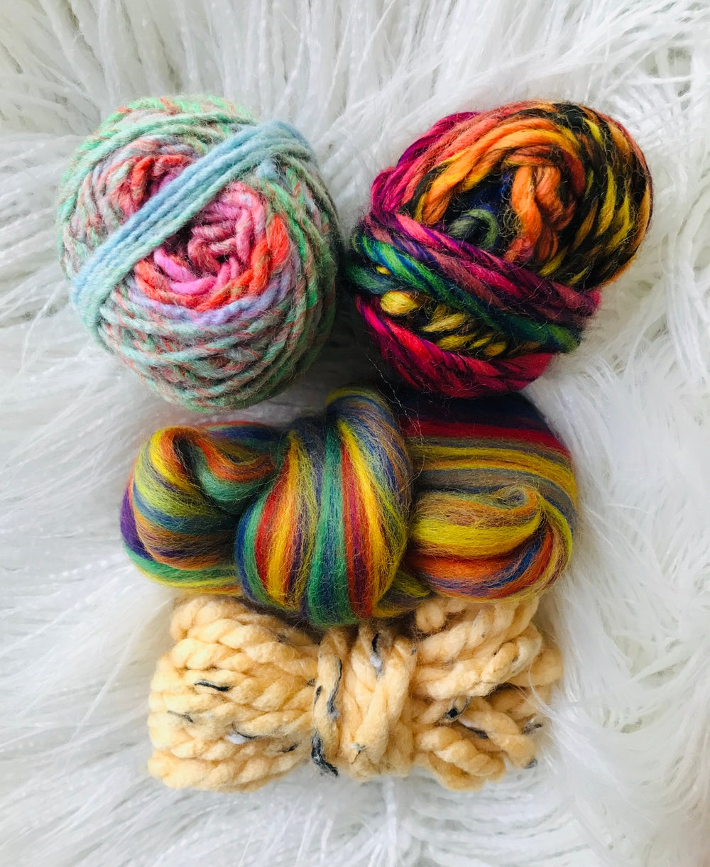 Rainbow Mini Fibre Pack