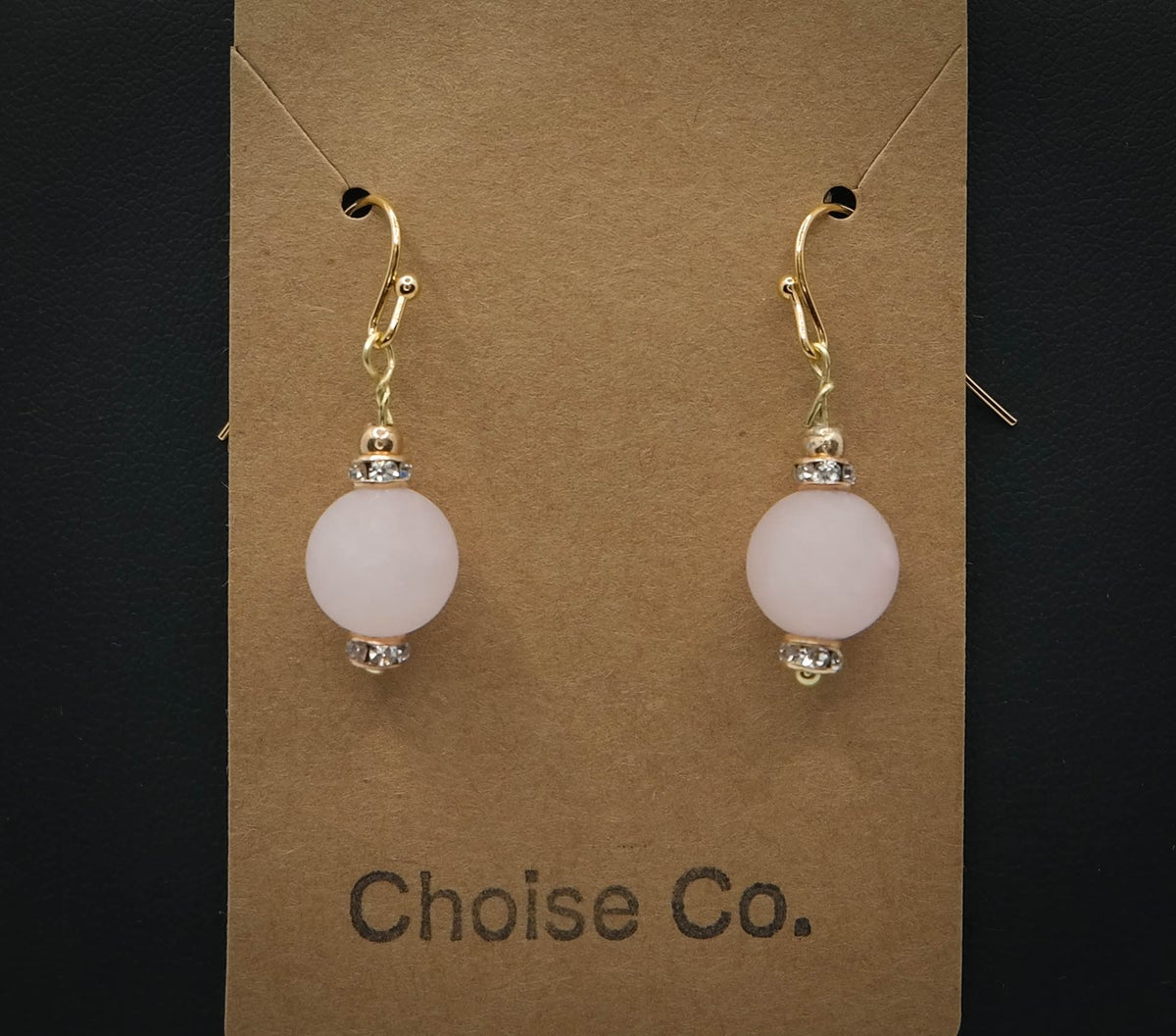 Limited Edition <br /> <br /> Earring <br /> Pink Blob