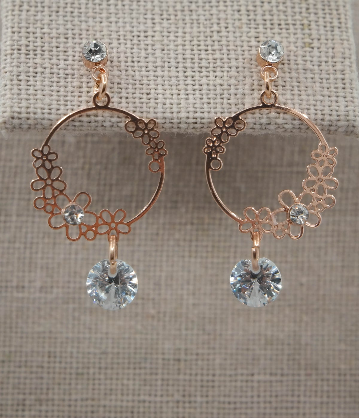 Limited Edition <br /> <br /> Earring <br /> Rose Gold Daisy