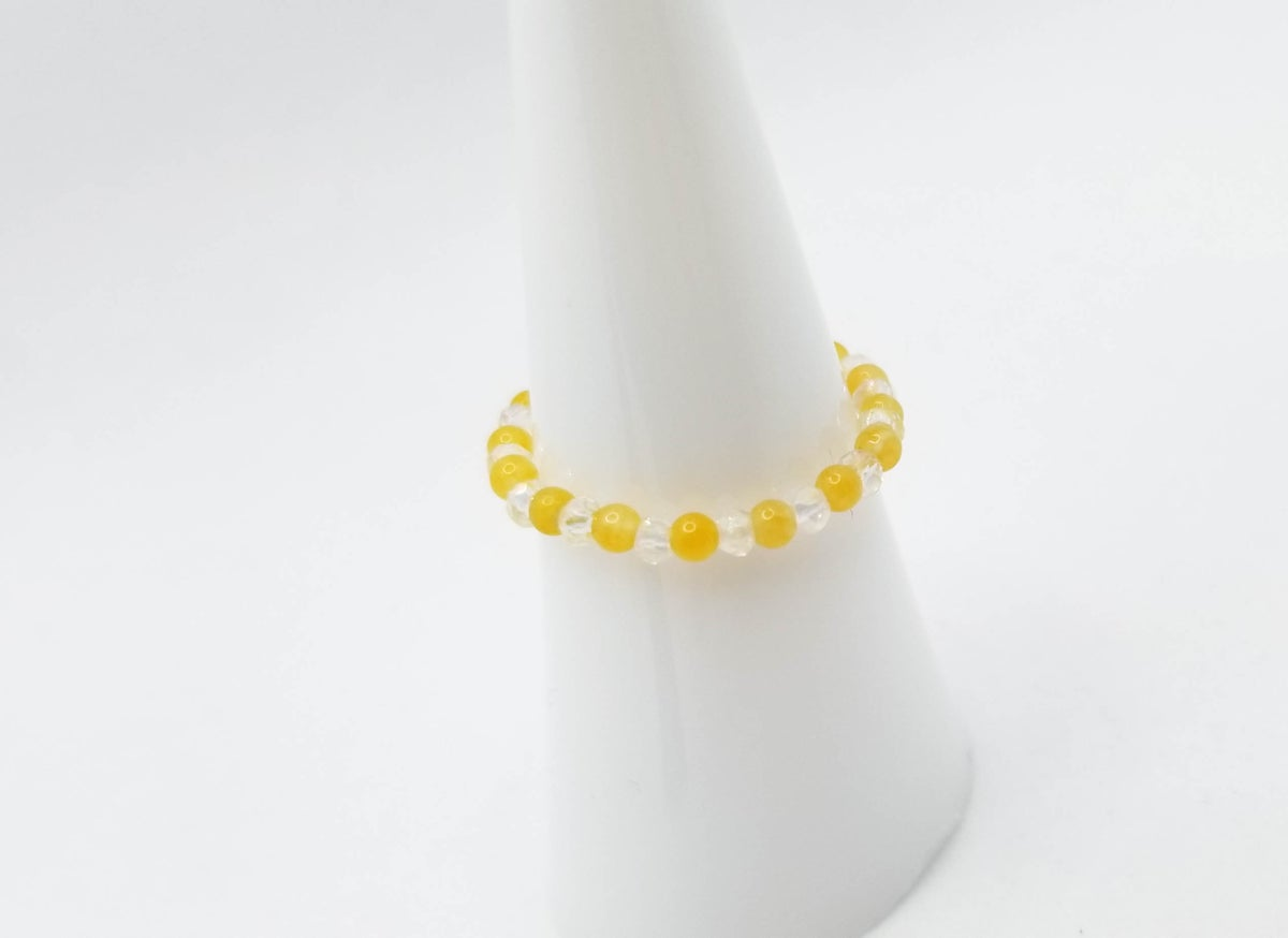 Ring <br /> Yellow Bead