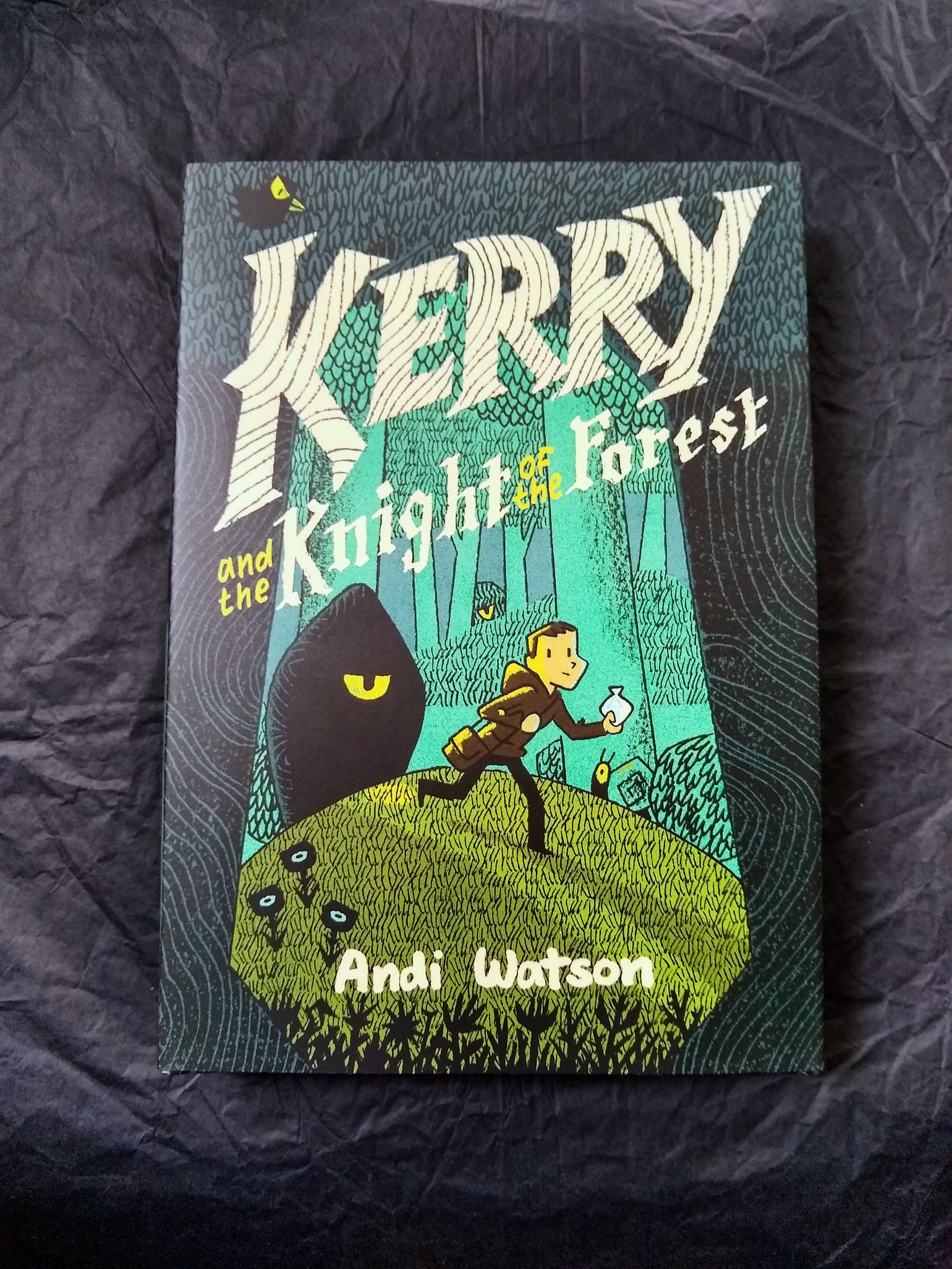 Image of Kerry and the Knight of the Forest hardback