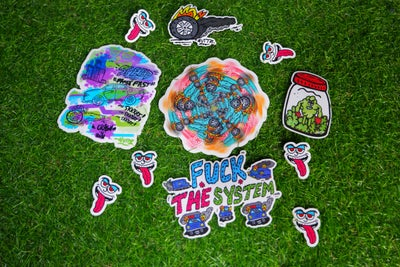 Image of Shoot Dope Spot 2020 Sticker Pack