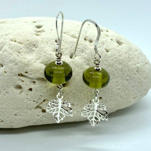 Image of Autumn Leaves Dangle Earrings