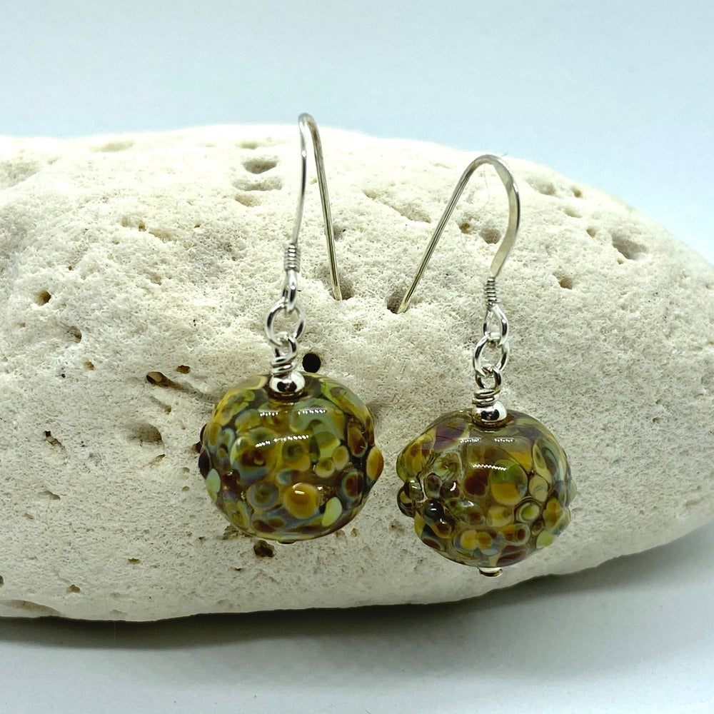 Image of Light Rock Hound Bobble Earrings