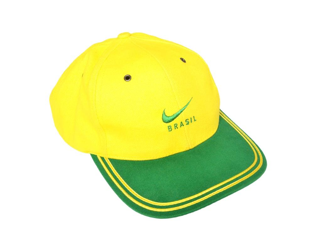 Image of 1998 Nike Brazil Cap