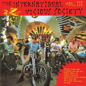 Image of LP. V.A. : International Vicious Society Vol 3.