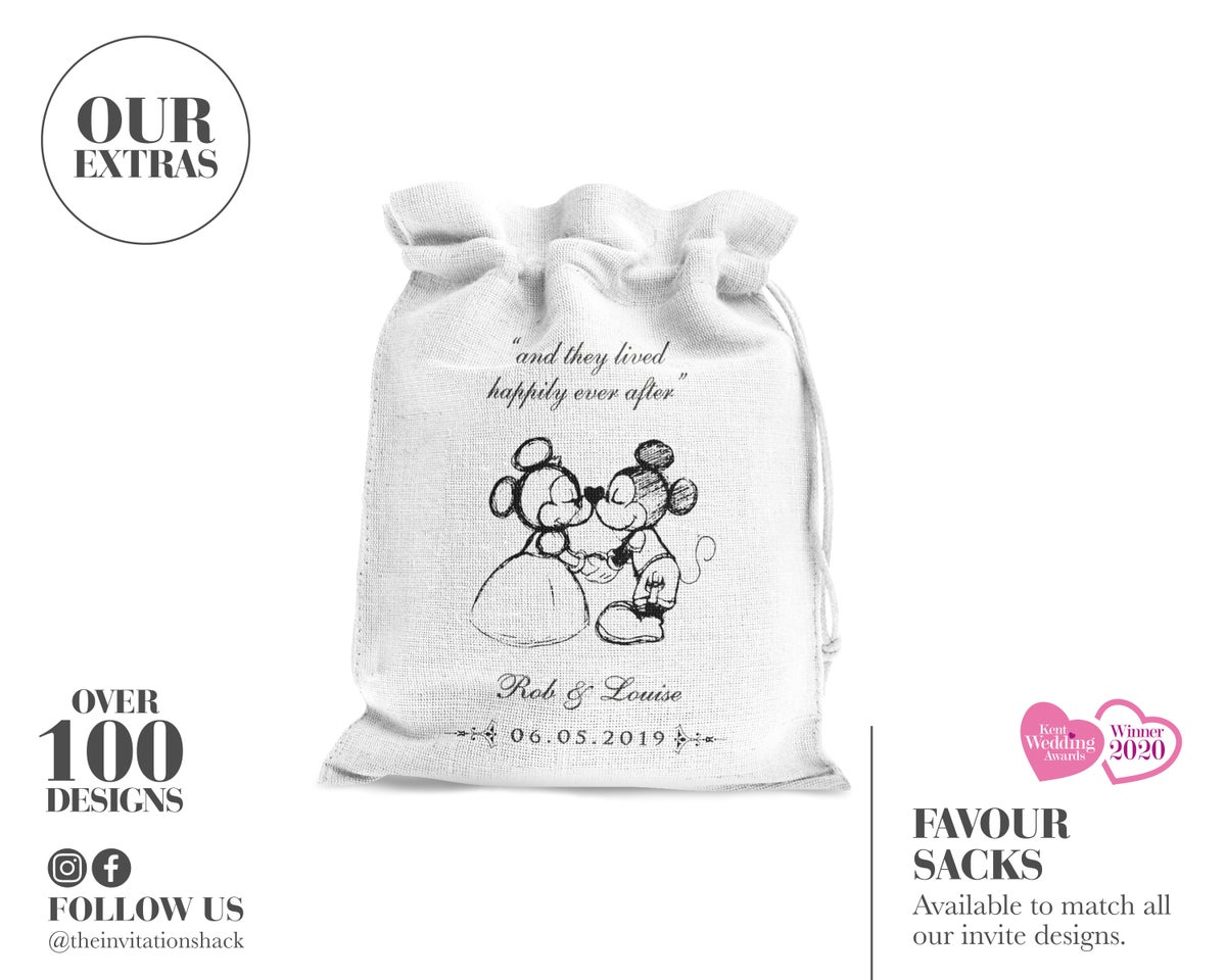 Mini Favour Sacks