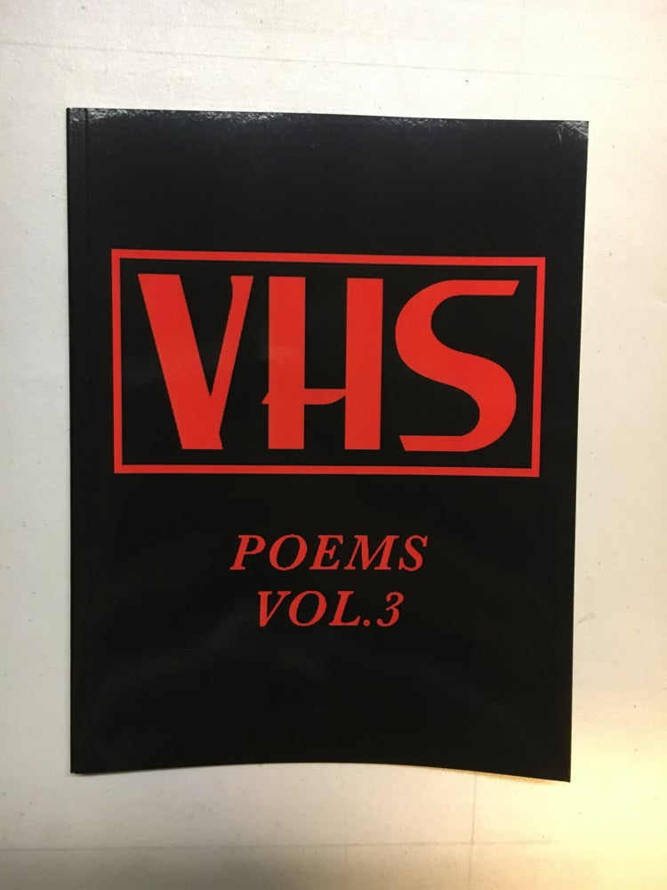Image of VHS Poems vol.3