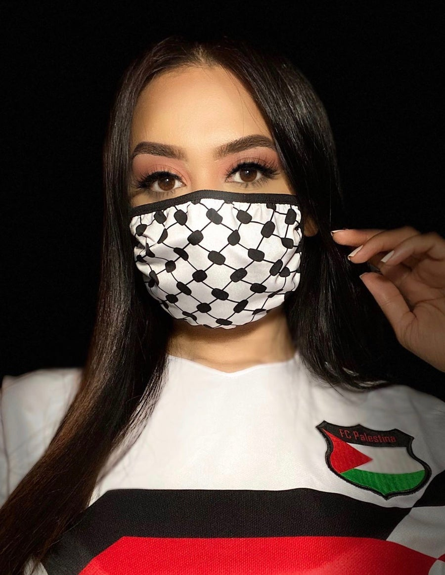 Image of Palestine Face Masks