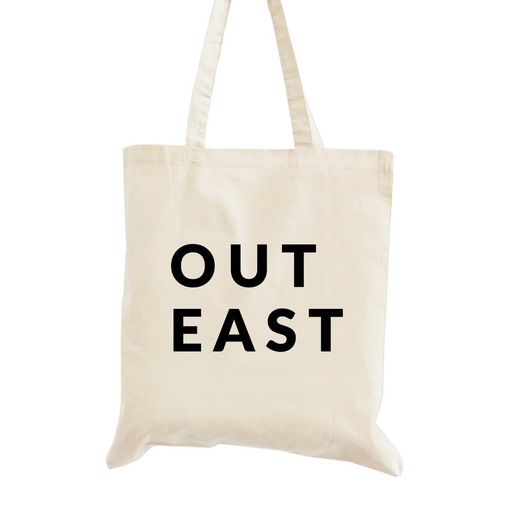 Image of Out East Ready to Buy Welcome Tote Bag
