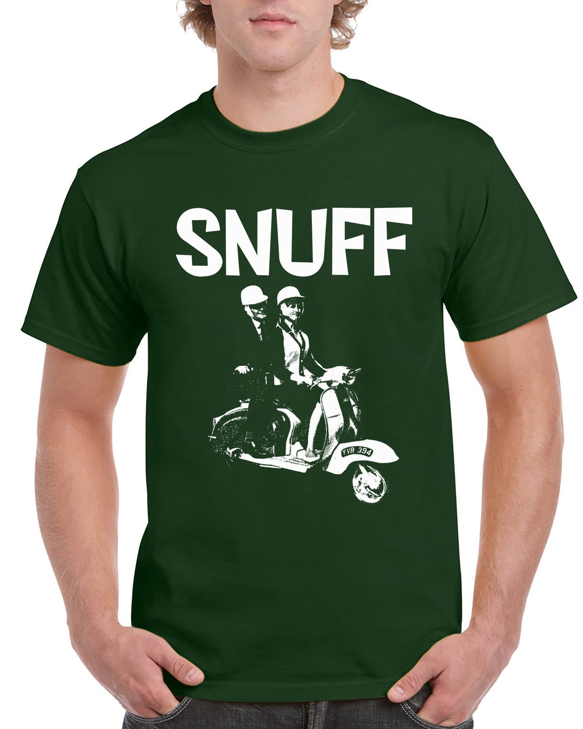 Snuff (Racing Green) 'Scooter' T-shirt
