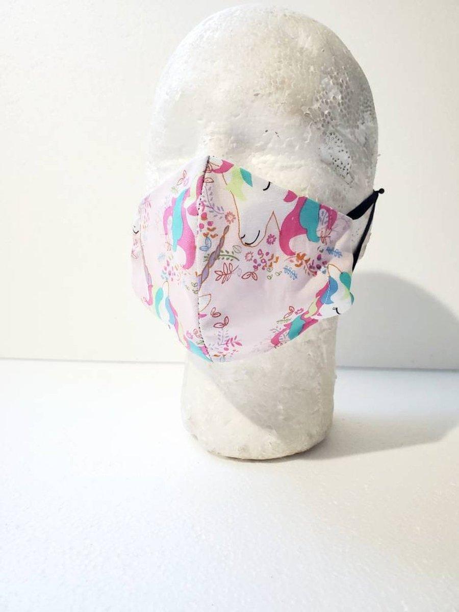 Image of Kids Unicorn Face Mask