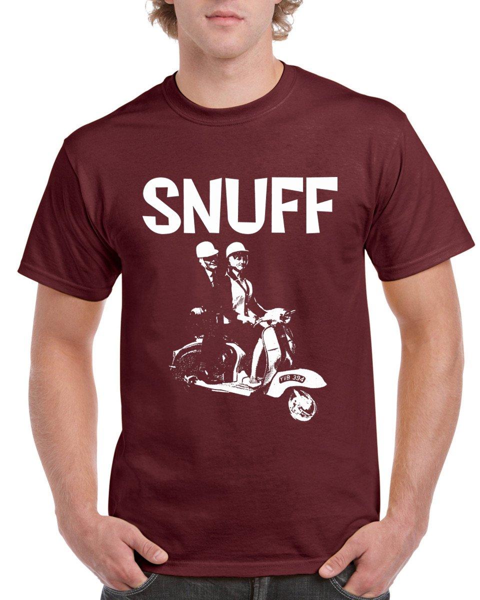 Snuff (Maroon) 'Scooter' T-shirt