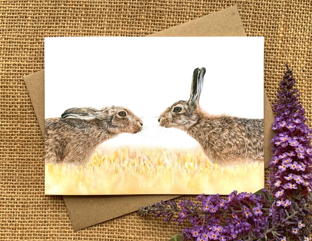 Image of 'Close Encounters' Greetings Card