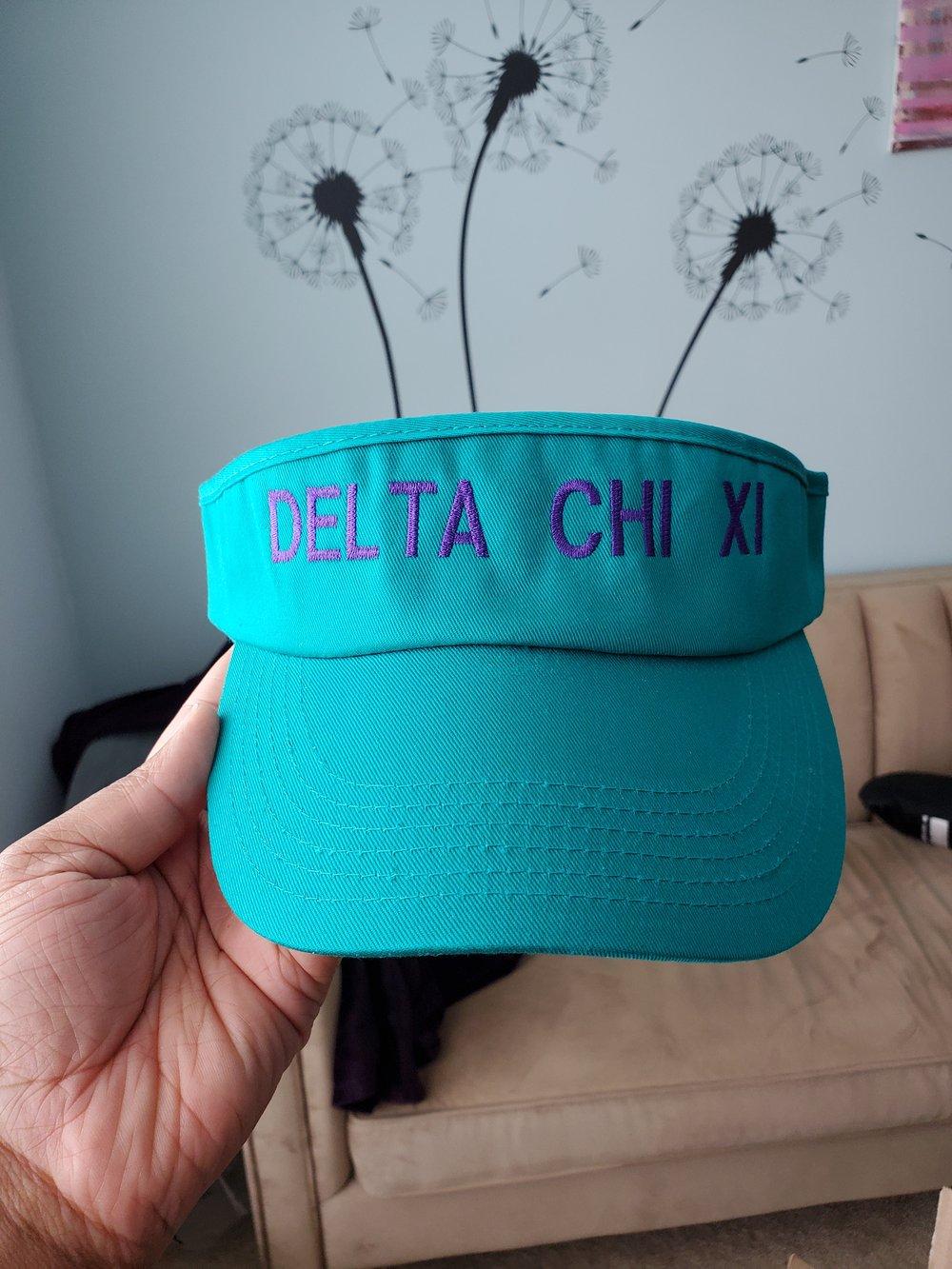 Image of Delta Chi Xi Visor