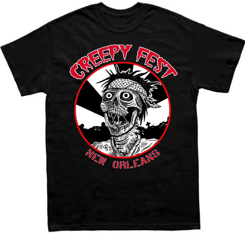 Image of Creepy Fest Circle Logo Shirt