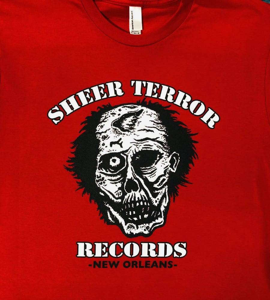 Image of Sheer Terror Records Logo Shirt