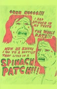 Image of Spinach Patch Date Risograph Print