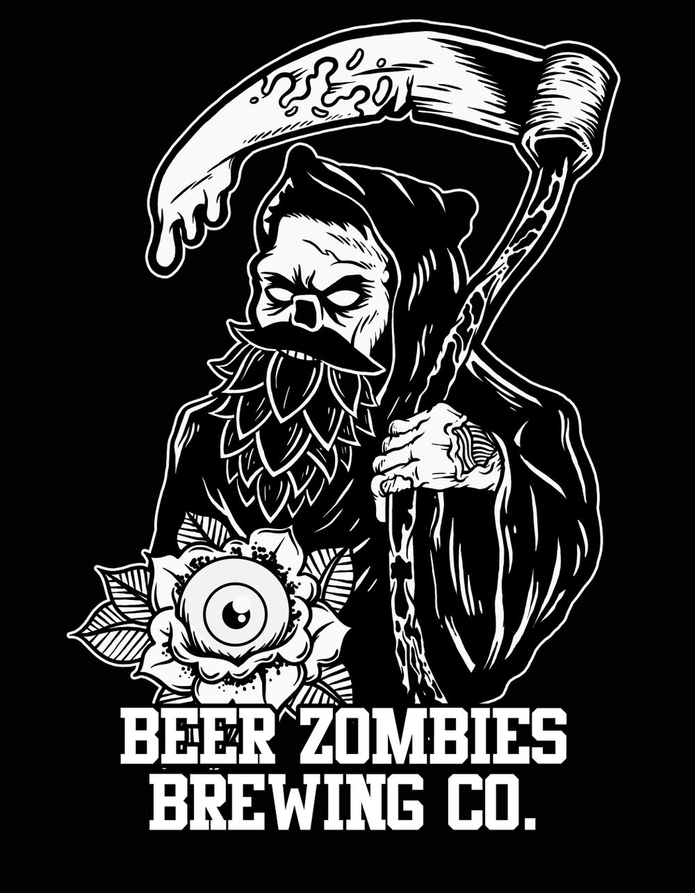 Beer Zombies - Beer Zombies Brewing Co. Shirt