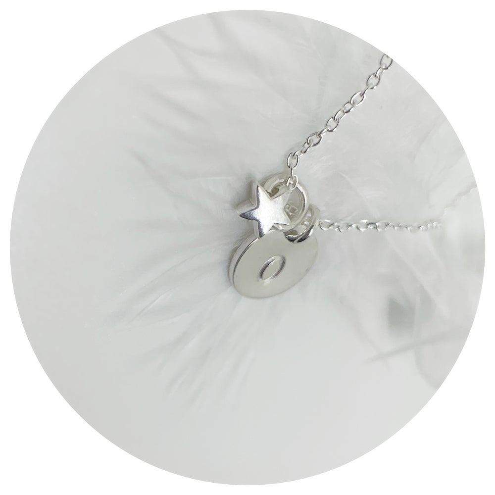 Image of Mini Star & Initial Necklace