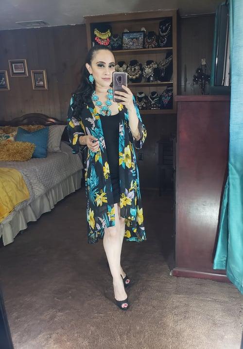 Image of Tropical Kimono
