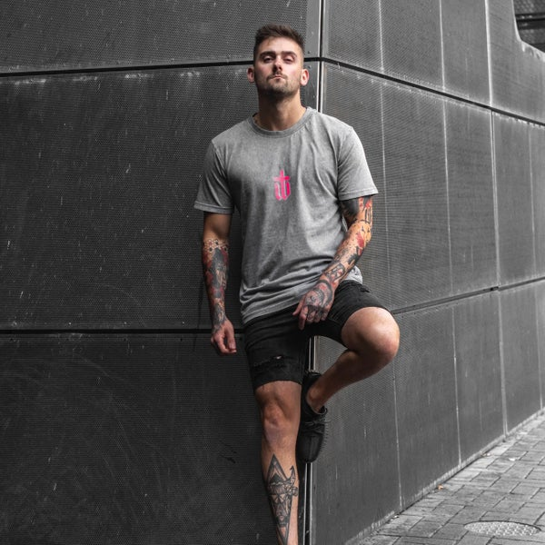 Image of GREY 3D TEE